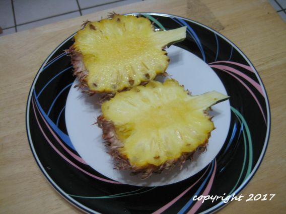 Queen Victoria pineapple fruit